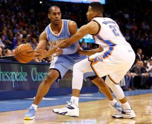 Nuggets Thunder Basketball